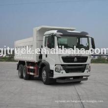 6 * 4 unidad de Sinotruk HOWO dumping tipo camión de basura / compresor de basura camión de transporte / camión de recolección de basura