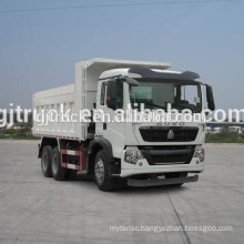 6*4 drive Sinotruk HOWO dumping type garbage truck/garbage compressor transport truck/ garbage collection truck