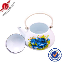 Enamel Teapot with Bakelite Handle/Kitchenware