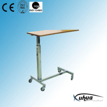 Hospital Furniture, Height Adjustable Hospital Overbed Table (L-4)