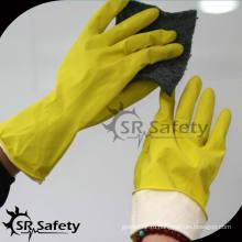 SRSAFETY супер мягкие водонепроницаемые перчатки для мытья посуды / перчатки для мытья посуды