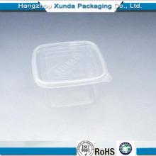 Caja PP transparente para ensalada