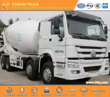 euro2 18m3 8x4 SINOTRUK mixer truck hot sale