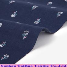 Poliéster Georgette Chiffon Spandex tecido de cetim com impresso para tecido de vestido