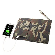 12W Sunpower Solar Foldable Mobile Phone Charger for iPad Electric Book