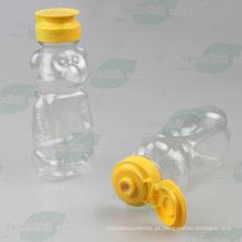 Urso forma pet garrafa para embalagem de mel (PPC-PHB-72)