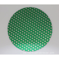16inch Diamond Lapidary Glass Porcelain Magnetic Dot Pattern Grinding Disk Lap Flat
