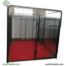 Venda quente em pó revestido grande caixa para animais de estimação usado para caneta cão