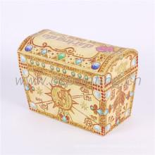 Nueva caja de empaquetado del regalo de la forma de la casa del papel del diseño