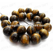 18MM ball shape tigereye stone beads
