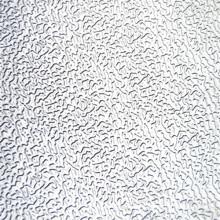 Folha de alumínio em relevo de estuque