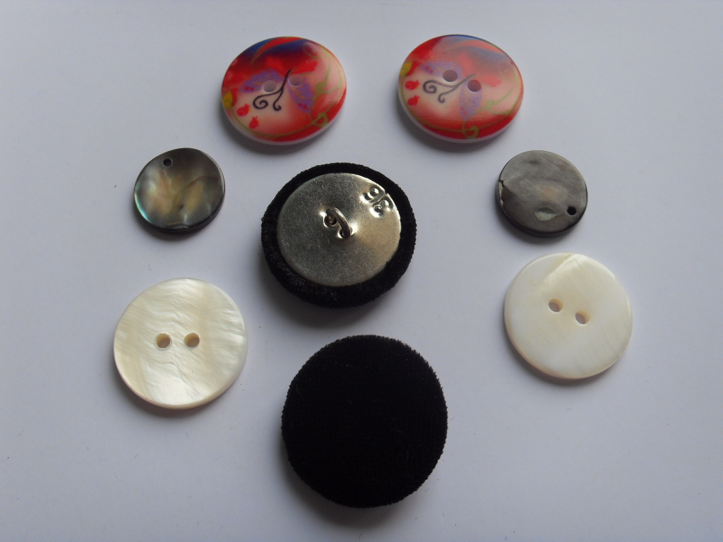 apparel button