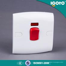 Interrupteur mural de chauffe-eau électrique standard britannique d'Igoto pour la maison