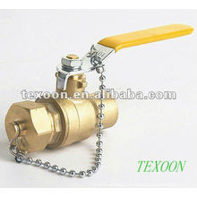 Chain brass ball valves with full port thread ends Lead free
