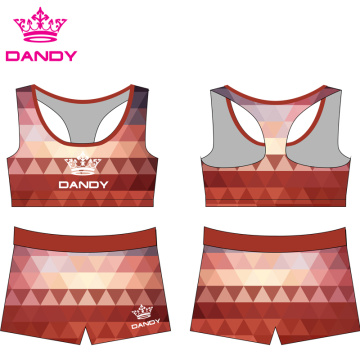Uniformes d'athlétisme sublimés par Ombre Cheer