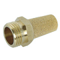 Sintered Brass Stainless Steel Pneumatic Air Silencer
