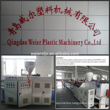 hollow type size of 150mm WPC decking profile production machinery