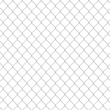 Experienced factory silver colour 8 feet high chain link fence
