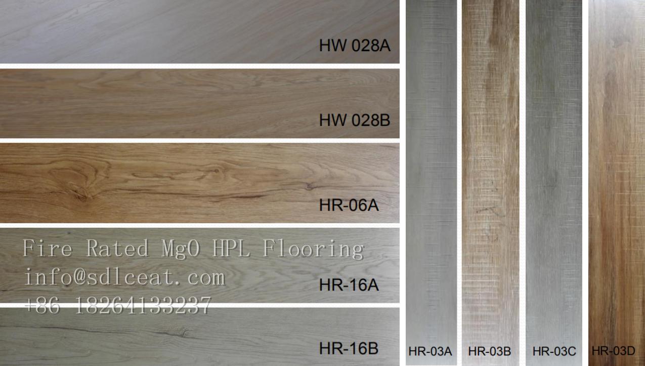 decorative laminate decking floor