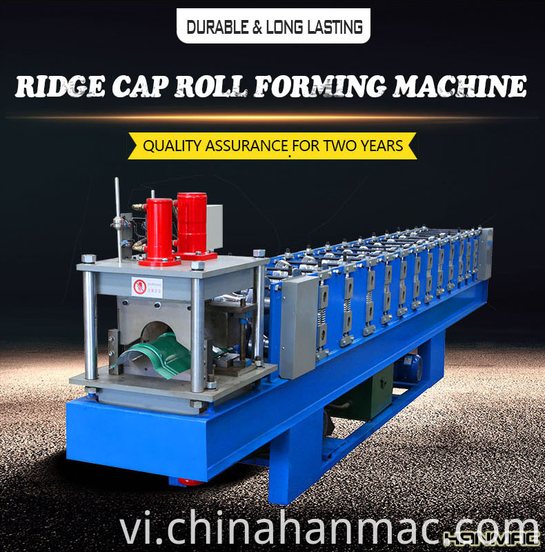 Ridge-Cap-Roll-Forming-Machine