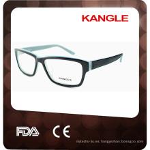 Gafas ópticas hechas a mano de alta calidad al por mayor 2017