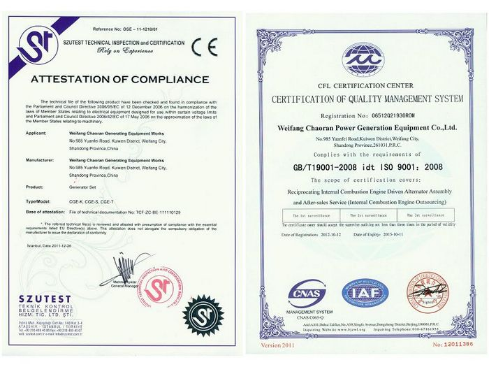 iso & ce
