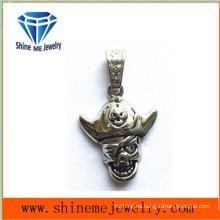 Colgantes del collar del cráneo de la joyería del molde del acero inoxidable
