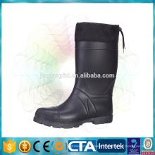 TPR warm boots waterproof winter boots with fleece lining