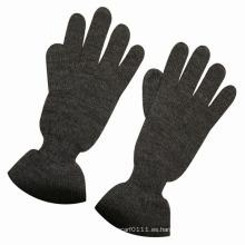 Guantes de punto de lana de moda de lana de señora Fashion Warm Dress (YKY5426)