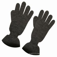 Lady Fashion Wool Acrylic Knitted Winter Warm Dress Gloves (YKY5426)