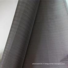 Treillis métallique tissé noir Ti