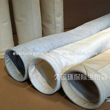 PPS+PTFE filter bag with stainless steel mouth