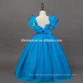 Vestido de Cinderella cospay en traje de TV y película 2016 nuevo diseño de vestido de princesa de color azul