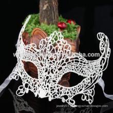 Máscara facial do laço da dança do partido fotográfico da forma