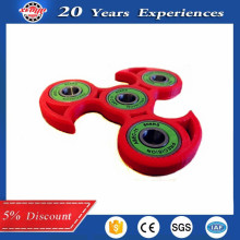 Fidget Spinner Mini Tri-Spinner EDC Hybrid Ceramic Center Bearing