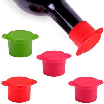 Couvercles réutilisables et scellants pour bouteilles d'ustensiles de cuisine