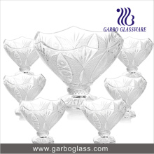 7PCS Glass Salad Bowl Set (TZ7-GB16037)