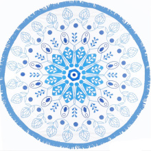 chiffon round beach towel blanket