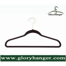 Ultra mince sans glissière Rose Velvet Hangers, Love Shaped Clothes Hanger