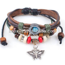High Quality Fashion Leather Bracelet KSQN-36