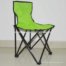 Venta por mayor tubo metálico al aire libre, sillas plegables
