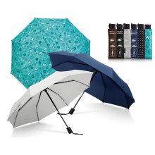 Fecho automático aberto 3 dobra guarda-chuva logotipo impressão