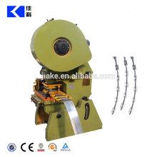 Automatic concertina razor wire machine