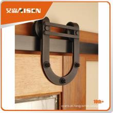 Design profissional de moldes porta de madeira porta deslizante