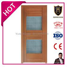 Portes intérieures en plastique de Toliet d'affaires de porte de PVC de conception de l'Europe pour la salle de bains