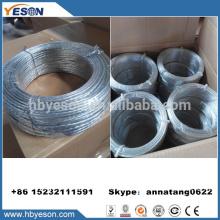 Anping 3mm torsadé galvanisé en fer à faible teneur en carbone usine de câbles métalliques