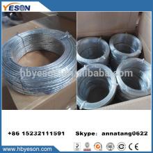 Anping 3mm torcido galvanizado baixo carbono ferro cabos de aço fábrica
