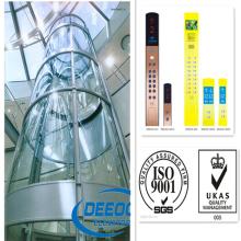 Высокая Скорость Конкурентоспособная Цена Красивый Панорамный Подъемник Лифт