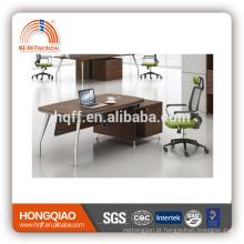 (MFC) DT-21-18 mesa de escritório de madeira mesa de aço inoxidável mesa de escritório executivo base