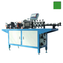 PLC Evaporator copper aluminum bundy steel tube straightening and cutting machine
